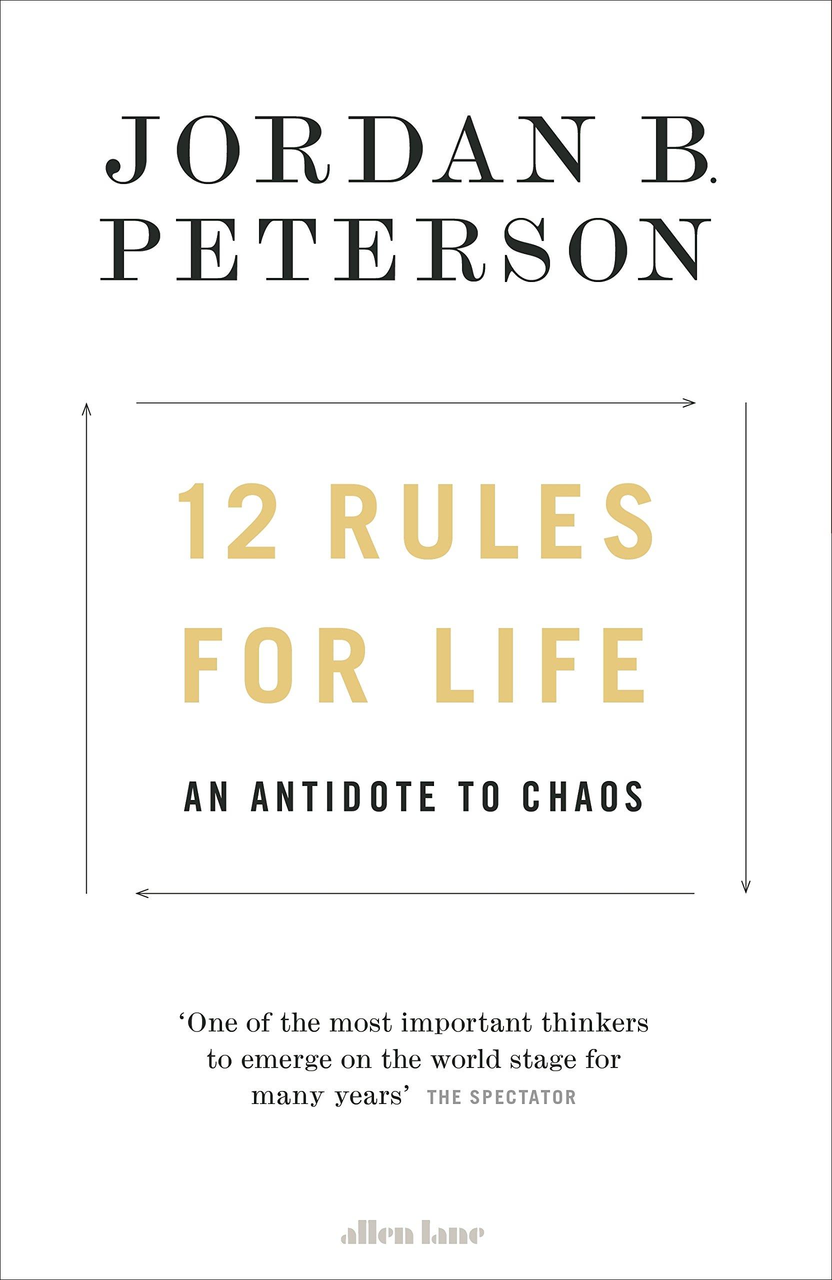 """nowy styl nowy design wyprzedaż ze zniżką Antidotum na chaos? Recenzja """"12 Rules For Life"""" Jordana B ..."""