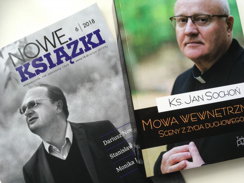 """e4d4d14f71 Recenzja """"Mowy wewnętrznej"""" ks. Jana Sochonia w miesięczniku """"Nowe Książki"""""""