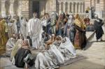 Brooklyn Museum The Pharisees Question Jesus Les pharisiens questionnent Jesus James Tissot