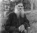 Leo Tolstoy 1897 black and white 37767u