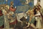 Giotto di Bondone No. 26 Scenes from the Life of Christ 10. Entry into Jerusalem WGA09206