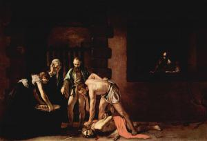 caravaggio beheading of saint john the baptist